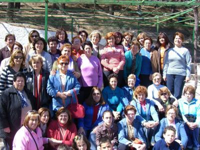 Dia de la Mujer. La Roza (Abrucena)