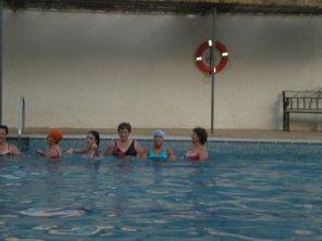 Taller de natación.