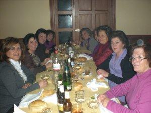 Cena de Navidad. Asociación de Mujeres.