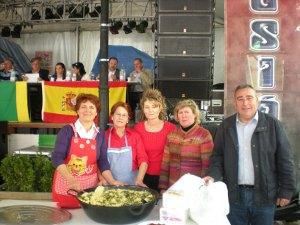 Colaboración de la Asociación de Mujeres en el IV. Concurso de Mostos Villa de Abrucena.
