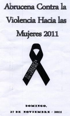 Abrucena Contra la Violencia Hacia las Mujeres 2011